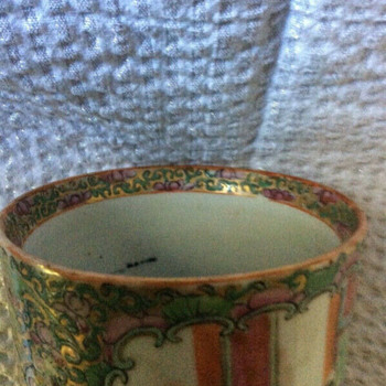 Famille Rose porcelain Cup Hand painted - China and Dinnerware