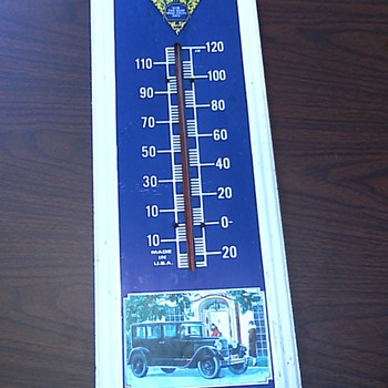 Original dealership Packard thermometer - Advertising