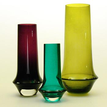 Vases No. 1378, Tamara Aladin (Riihimáki lasi, 1963) - Art Glass