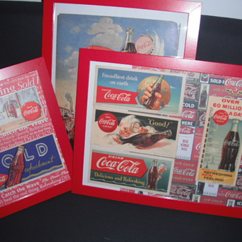 Blotters - Coca-Cola