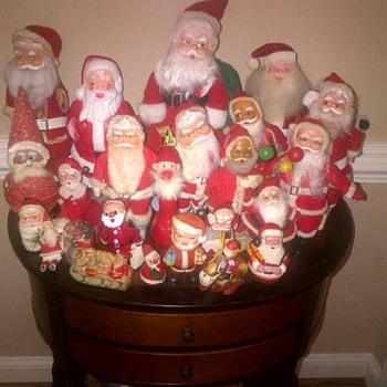 Vintage Santa Collection
