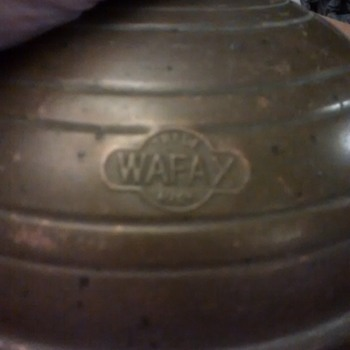The Wafax bed warmer in brass and other material, its not the frying pan type, no handle as such just the rubber and brass stop - Tools and Hardware