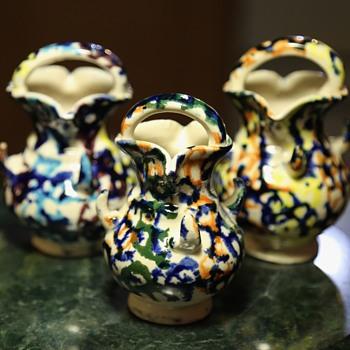 3 little mystery pots... - Pottery