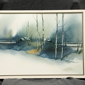 Alireza Watercolor - Fine Art