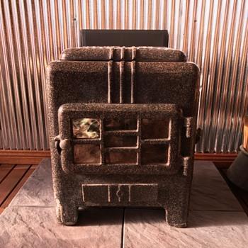 Warm Ray Art Deco Wood Heater