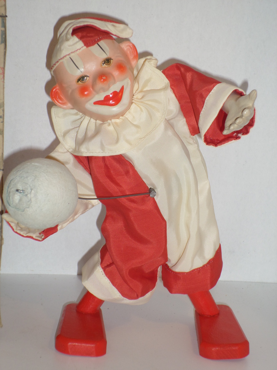 Odd Wind-up Mechanical Clown | Collectors Weekly