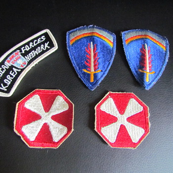 Military Patches - WWII - Military and Wartime