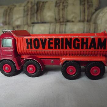 Matchbox hoveringham dump truck. - Model Cars