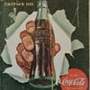 1942 Coca-Cola Vintage Advertisement Poster 5 Cent Sign