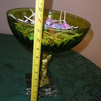 Vintage compote. - Glassware