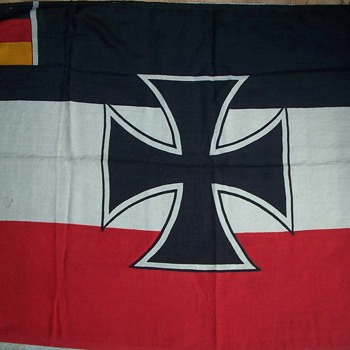 Weimar Germany Navy War Ensign - Military and Wartime
