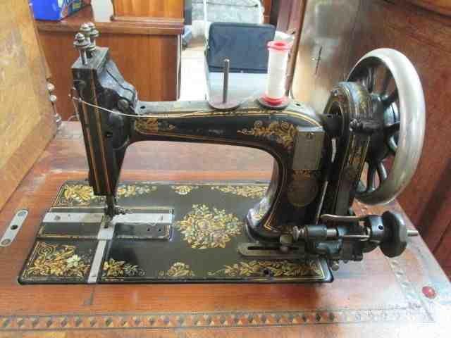German Transverse Sewing Machine Collectors Weekly Interesting German Sewing Machine