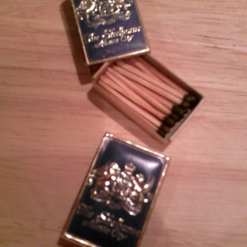 Boxes of matches from the old Shelburne Hotel, Atlantic City - Tobacciana