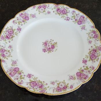 10' M. Redon Limoges Dinner Plate