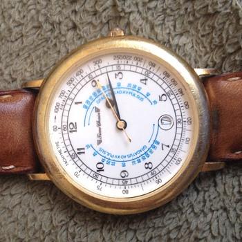Vintage Time Chain Men's Wrist Watch