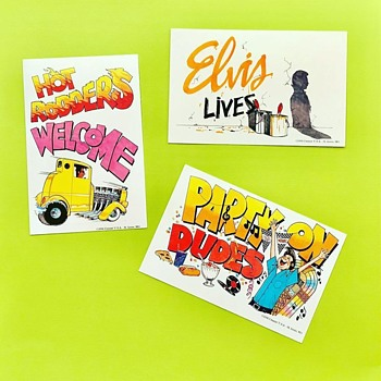 Postcards from 50's - Postcards