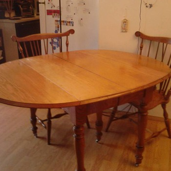 Drop leaf table casters with chairs