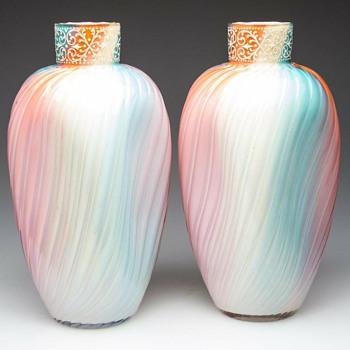 Loetz Rainbow Shape study - Art Glass