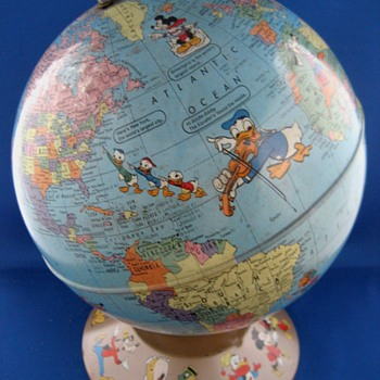 Disney-Rand McNally World Globe - Office