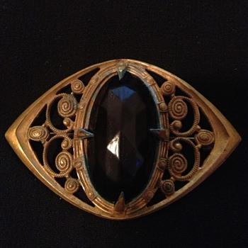 Before & After Restoration of A Victorian Brooch - Costume Jewelry
