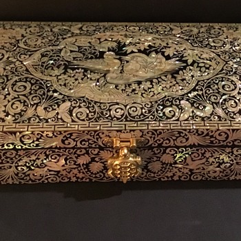 Korean Laquer Ware Jewellery Box - Najeon Chilgi
