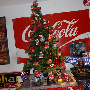 My  Coca Cola Christmas tree - Coca-Cola