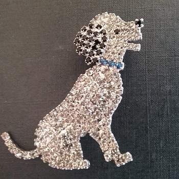 Butler & Wilson dog brooch  - Animals