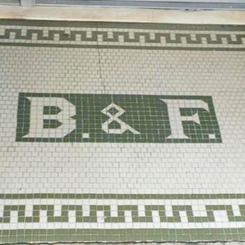 Mosaic Entryway, Bel Air, MD - Advertising