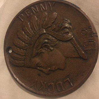 Souvenir Coin - Advertising