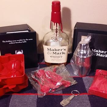 MAKER'S MARK BOURBON items, group 4 - Kitchen