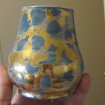 Mexican art pottery vase  - Pottery