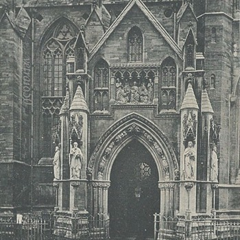 BRISTOL CATHEDRAL NORTH PORCH - Postcards