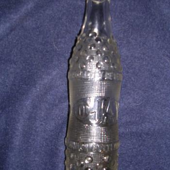 Rare Ojay embossed soda bottle Memphis Tn 20's ~ #30's