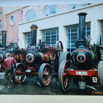 1989-old Birmingham-traction engine rally. - Railroadiana