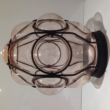 Gorgeous glass light/lamp shade!Does anybody know anything about it? - Lamps