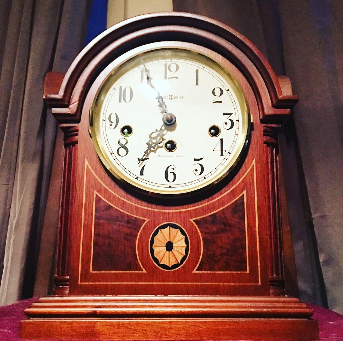 Howard miller mantel clock barrister