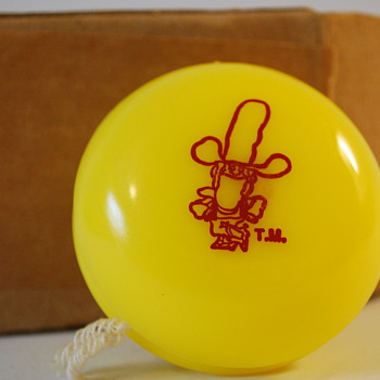 Vintage Duncan Yo-Yo Corn Pops Cowboy Old Cereal Premium - Toys