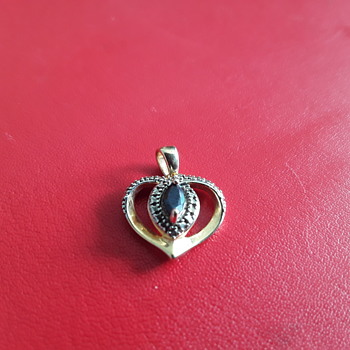 Nice Ruby ? Pendant - Costume Jewelry