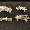 Comet Brooch collection: 4 brooches