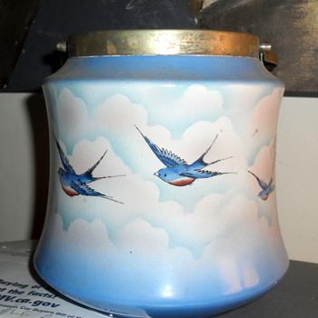 GFB England Biscuit Jar - China and Dinnerware