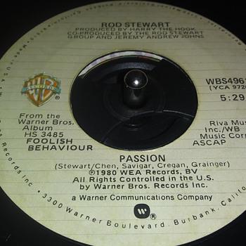 45 RPM SINGLE....#156 - Records