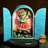 Plaster and Painted Paper Cubby - Singing Frog