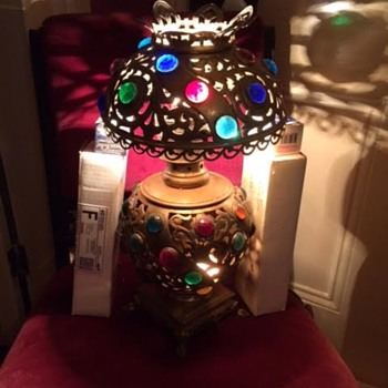 Jeweled Table Lamp
