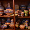 Most of my collection of Mayan Revival or Aztec Tourist Ware