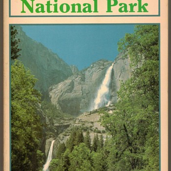 1989 - Yosemite National Park - Guidebook