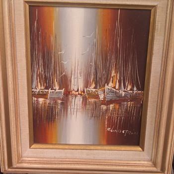 Rinkard Linström Oil on canvas