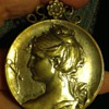Louis Armand Rault designed Victorian box locket.