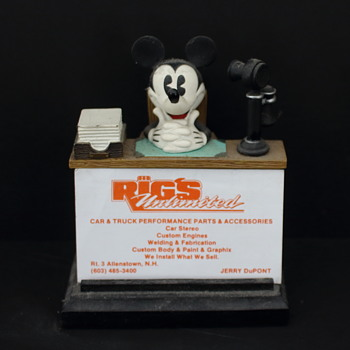 Micky Mouse card holder ../ photos - Animals