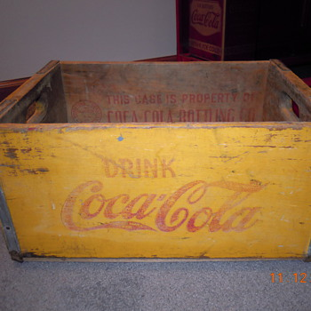 20's-30's Coca-Cola Crate - Coca-Cola