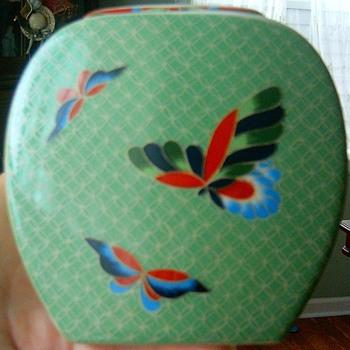 Small Green Vase - Pottery